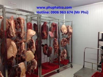 Kho lạnh trữ thịt bò nhập khẩu