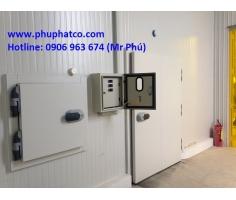 Lắp kho lạnh bảo quản sầu riêng tại Tiền Giang